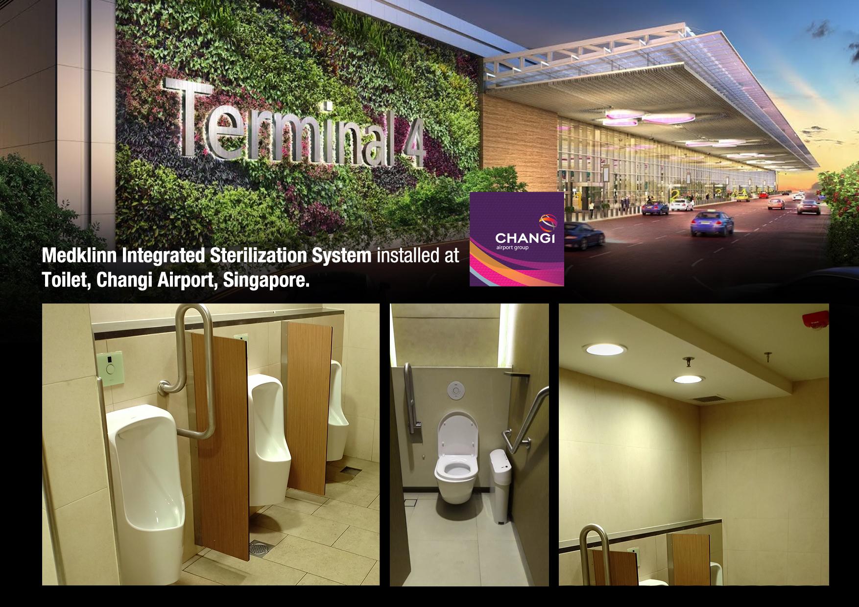 Medklinn Integrated Changi Airport Toilet