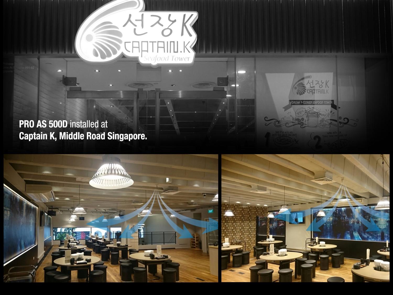 Medklinn PRO AS500D Captain K Main Road Singapore