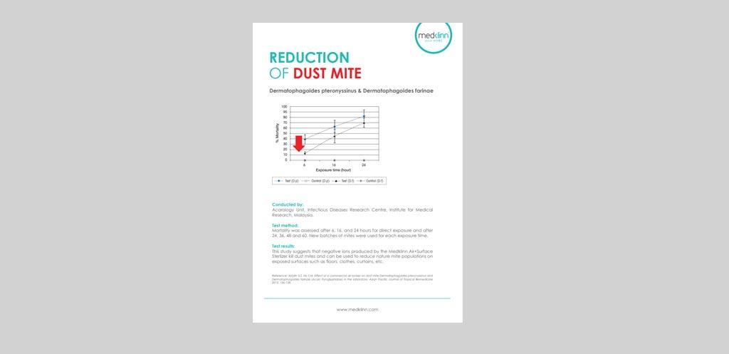 Medklinn Reduction Of Dust Mite